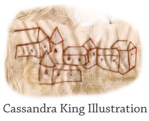 Cassandra King Illustration